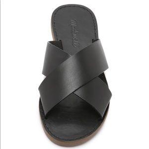 Madewell Boardwalk Slide Sandals Size 6